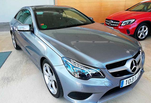 MERCEDES-BENZ Clase E Coupe E 220 BlueTEC 2p